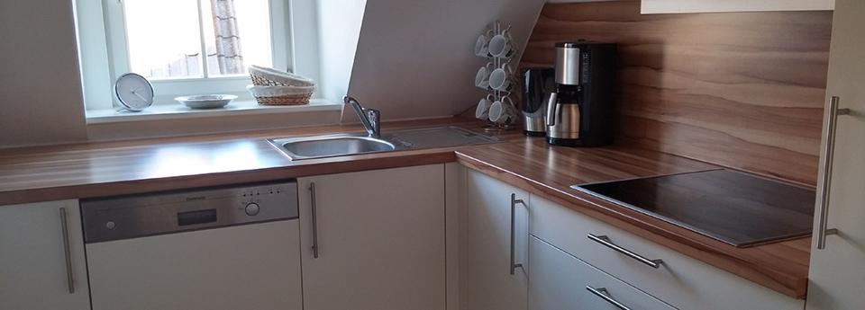 Küche Ferienwohnung Alter Adler